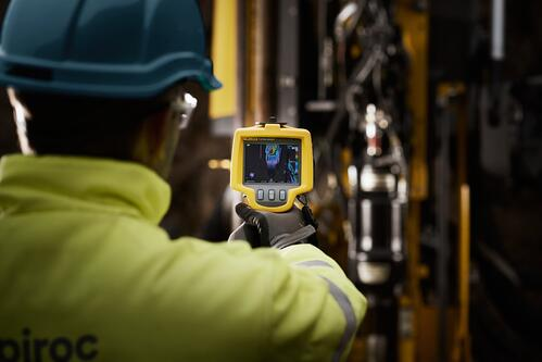 Epiroc RigScan thermal imaging_scanner_operations_technician